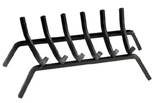 Landmann Steel Fireplace Grate - 27in.W, 6 Bars, Model# 88276 (Landmann Grate)