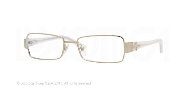 Amazon.com: Vogue Vo3748 Eyeglasses 848 Pale Gold Demo Lens ...