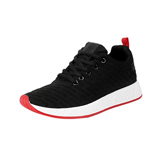 OPAKY Women Men Mesh Shallow Mouth Cross Tied Casual Shoes Gym Shoes Skate...