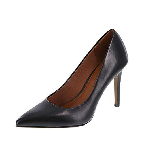 Christian Siriano for Payless Women's Smooth Black Women's Habit Pointed Pump 7.5 Regular ()