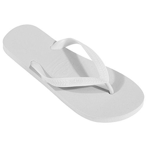 Ein neues Paar Flip Flops, weibliche Sommermode., EU 40, grau,