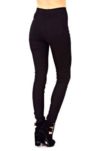 Clothing negro Vaqueros para Outofgas mujer BSd7nnA