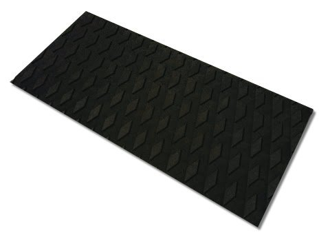 Traction Non-Slip Grip Mat [13in x 6in] - Versatile & Trimmable Sheet of EVA Pad with 3M Adhesive. Perfect for Boat Decks, Kayaks, Surfboards, Standup Paddle Boards, Skimboards & More