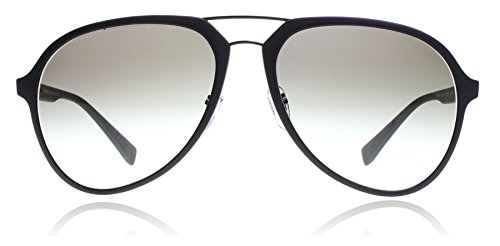 Prada Linea Rossa Men's 0PS 05RS Black Rubber/Grey Gradient from Prada Linea Rossa