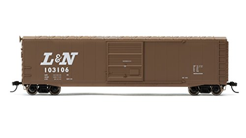 Nashville Train Set - Rivarossi #103106 Louisville & Nashville Railrooad Box Car with Sliding Door (HO Scale)