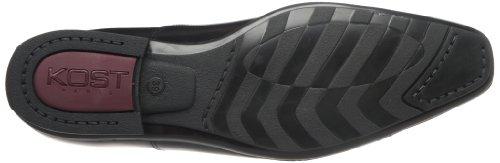 Kost - Zapatos de cuero para hombre Negro