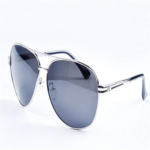 Gafas De Hombres Color plateado Color De gris Sol Polarizadas Pistola ZYZHjy Gris Aa5dWwfaq