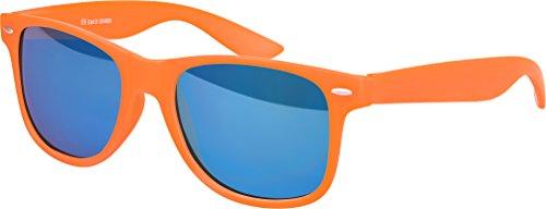Balinco - Lunette de soleil - Femme Bleu Bleu Bleu - Orange - Blau verspiegelt