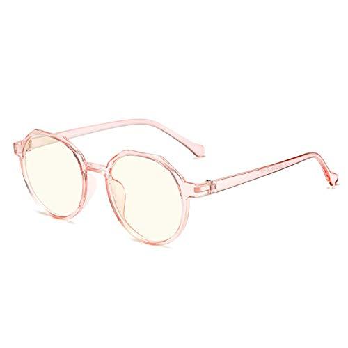 Blue Light Blocking Glasses for Women Round Frame Eyeglasses Candy colors Pink