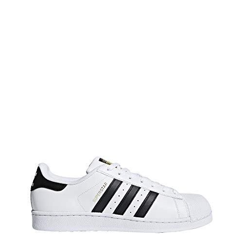 adidas Originals Men's Superstar Shoe Running Core Black/White, ((10 M US)