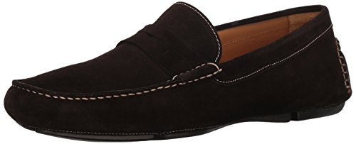 Bruno Magli Men's Napoli Driving Style Loafer Dark Brown Suede the cheapest online free shipping low price buy cheap 2014 unisex footlocker clearance finishline pkRqnXl
