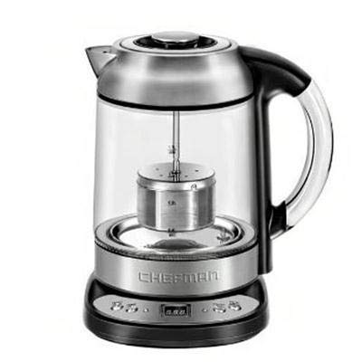 Chefman Electric Glass Digital Electric Tea Maker