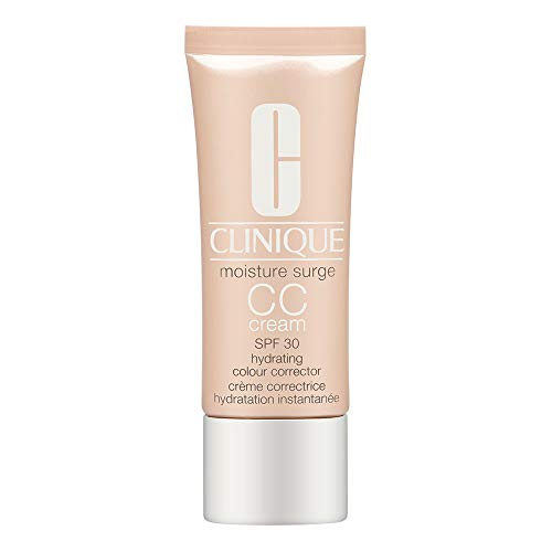 Clinique Moisture Surge All Skin Types CC SPF 30 Hydrating Colour Corrector Cream, Light Medium, 1.4 Ounce