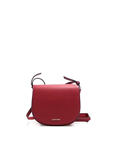Sacs bandoulière rot wein Bag Calvin Saddle Metropolitan Klein qwPwIf6
