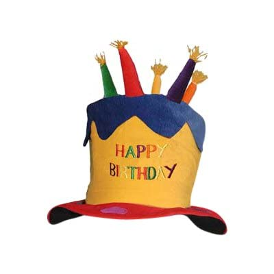 BZANY Childrens Birthday Cake Hat: Toys & Games