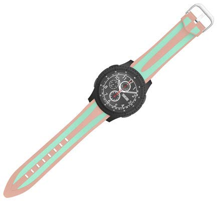 Jewh Wrist Strap - Silicone Strap for Xiaomi Huami Amazfit - Watch 22MM - Rubber Watch