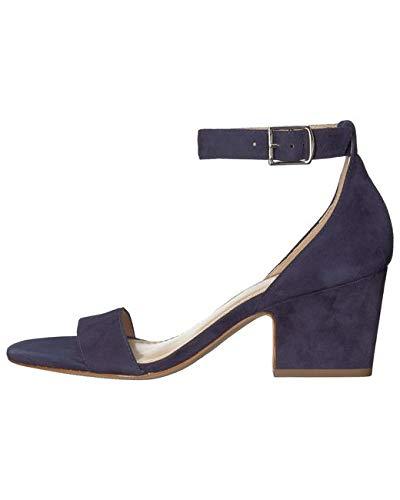 Johnston & Murphy Womens Deena Open Toe Casual Ankle Strap, Blue, Size 7.5