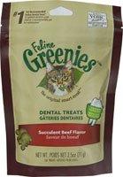 Greenies Feline Beef 2.5oz