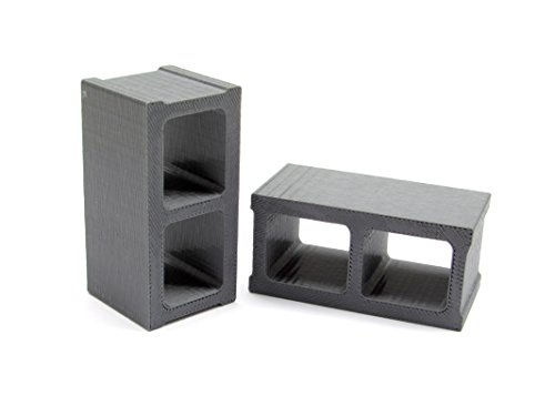 Gear Head RC Miniature Cinder Blocks - Miniature Block Cinder