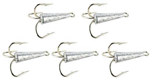 Bunker Hook (Last Cast Tackle 2oz 9/0 Weighted Treble Bunker Snag Hooks - 5 Pack)