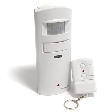 Uniquexceptional ma30rcr detector de movimiento alarma con Rolling Code mando a distancia (blanco)