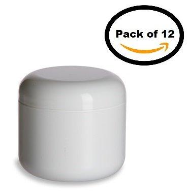 4 oz double wall plastic jars - 1