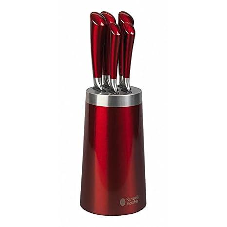 Compra Russell Hobbs Heritage Romano rojo 5 piezas Set de ...