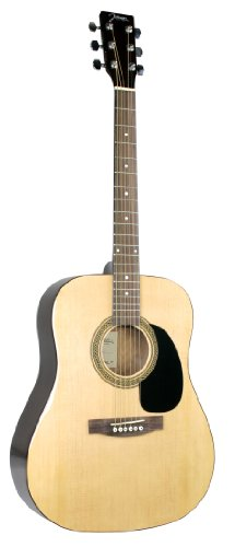 Johnson JG-620-N 620 Player Series Acoustic Guitar, Natural