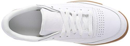 85 Fvs gum C gum Donna Sneaker White Reebok Multicolore white Club BtZqExw