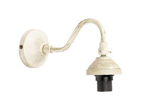 Supporto per applique lampada da muro in ottone con finitura laccata