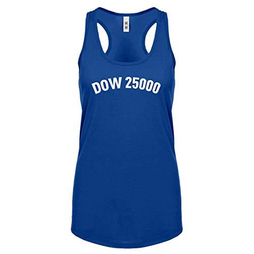 Indica Plateau Racerback Dow 25000 Medium Royal Blue Womens Tank Top