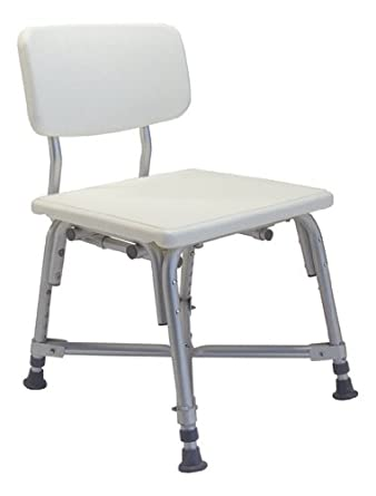 Amazon.com: Lumex 7939A Bariatric Bath Seat with Backrest (Pack of ...