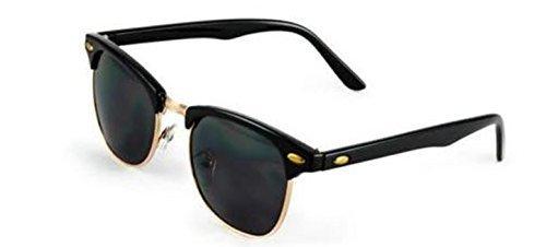 Nero Eyewear Occhiali da sole - Uomo Black & Gold M AT9Lkve