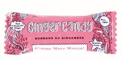 Gem Gem All Natural Chewy Gimme More Mango Ginger Candy 1.25 oz (Pack of 12)