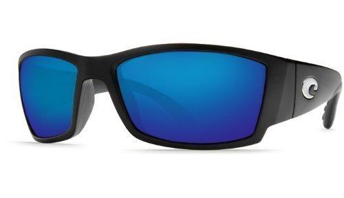 New Costa Del Mar Corbina 580G Black/Blue Mirror Polarized Lens 60mm Sunglasses by Costa Del Mar