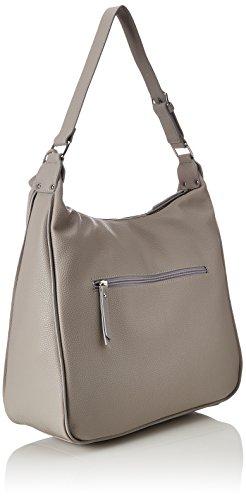 Handtasche Damen Flavia, Schultertasche, Grau (Grau), 15x29x27 cm Gabor