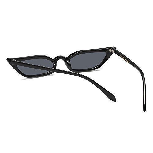 Pequeño Uv400 Gafas Negro TIANLIANG04 De Ojo Mujeres De Gato YAFzqw