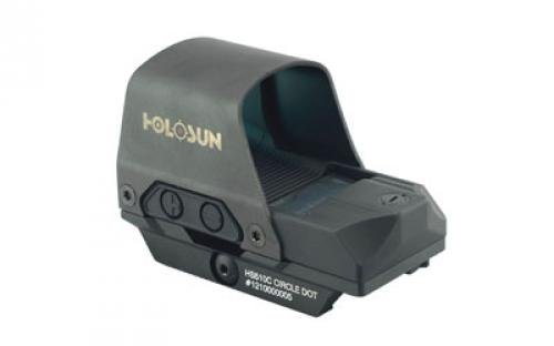 Holosun HS510C 2 MOA Open Reflex Circle Dot Solar Power Holographic Red Dot Sight by HOLOSUN (Image #2)