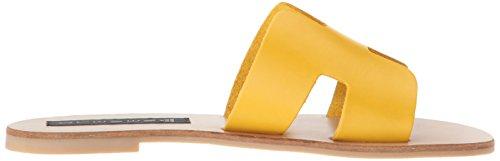 Madden Leather Yellow STEVEN Steve Greece by Women's z8w8pqHT