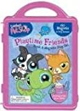 Littlest Pet Shop Book and Magnetic Playset, Hasbro Littlest Pet Shop, 0794414516