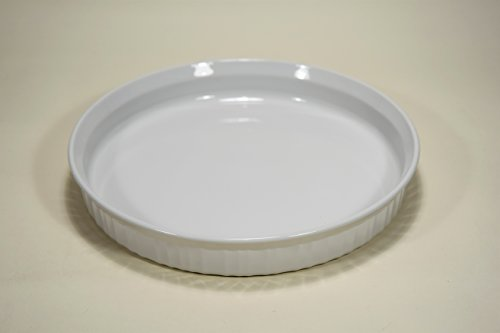 (Corning Ware French White Vintage 10 1/2