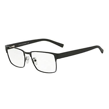 e6a77735053 Armani Exchange AX1019 Eyeglass Frames 6063-54 - Matte Black AX1019-6063-54