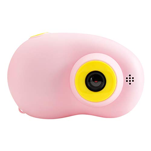 MChoice❤️Portable Children Camera HD 1080P Digital Video Camera 2 Inch LCD Screen Display (Pink)