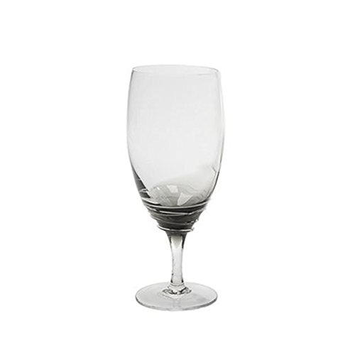 Mikasa Beverage Glass - Mikasa Swirl Smoke Iced Beverage Glass, 22-Ounce