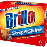 Brillo Strip and Shine Steel Wool Balls, 6 Count 3-Pack - Ball Strip