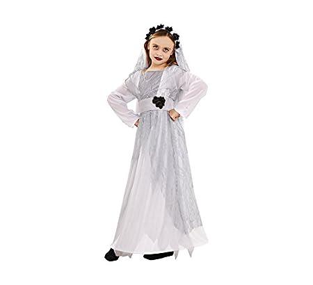Disfraz de Novia Cadáver para niñas: Amazon.es: Juguetes y juegos