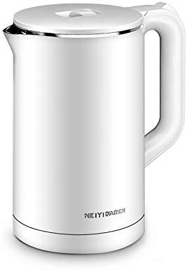 Electric Kettle, 1.7L 1500W Double Wall