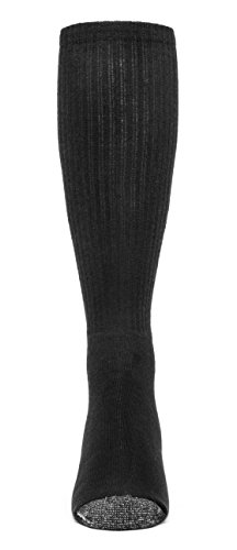 Galiva Women's Cotton ExtraSoft Over the Calf Cushion Socks - 3 Pairs