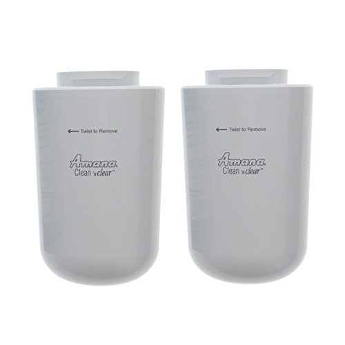 Amana Clean N' Clear 12527304 WF401 WF401S WF40 Refrigerator Water Filter 2 Pack .#GH45843 3468-T34562FD606353