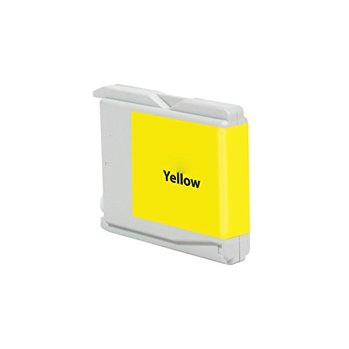 - 3 Packs G&G Yellow Ink Cartridge Compatible with Brother LC-51Y